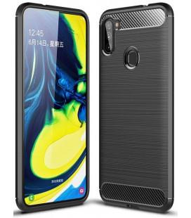 """Juodas dėklas Samsung Galaxy M11 telefonui """"Tech-Protect"""""""