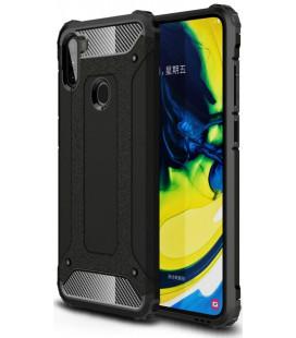 """Juodas dėklas Samsung Galaxy M11 telefonui """"Tech-Protect Xarmor"""""""