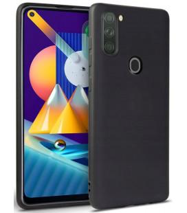 """Juodas dėklas Samsung Galaxy M11 telefonui """"Tech-protect Icon"""""""