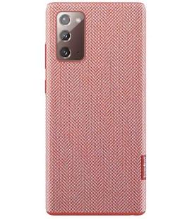 """Originalus raudonas dėklas """"Kvadrat Cover"""" Samsung Galaxy Note 20 telefonui """"EF-XN980FRE"""""""
