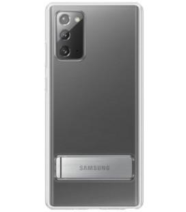 """Originalus skaidrus dėklas """"Standing Cover"""" Samsung Galaxy Note 20 telefonui """"EF-JN980CTE"""""""