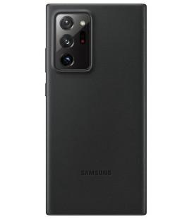 """Originalus juodas dėklas """"Leather Cover"""" Samsung Galaxy Note 20 Ultra telefonui """"EF-VN985LBE"""""""