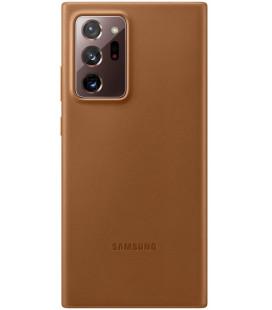 """Originalus rudas dėklas """"Leather Cover"""" Samsung Galaxy Note 20 Ultra telefonui """"EF-VN985LAE"""""""