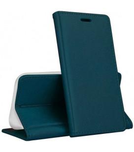 """Žalias atverčiamas dėklas Huawei Y6P telefonui """"Smart Magnetic"""""""