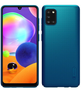 "Mėlynas dėklas Samsung Galaxy A31 telefonui ""Nillkin Frosted Shield"""