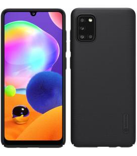 "Juodas dėklas Samsung Galaxy A31 telefonui ""Nillkin Frosted Shield"""