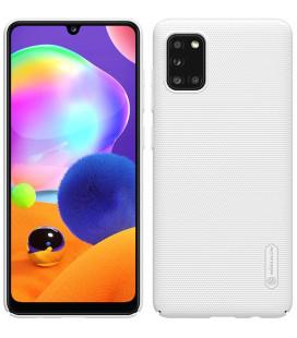 "Baltas dėklas Samsung Galaxy A31 telefonui ""Nillkin Frosted Shield"""