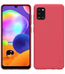 "Raudonas dėklas Samsung Galaxy A31 telefonui ""Nillkin Frosted Shield"""