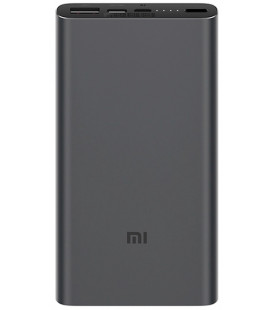 """Juoda išorinė baterija 10000mAh """"Xiaomi Mi PowerBank 3 Fast Charge"""""""