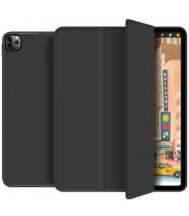 """Juodas atverčiamas dėklas Apple iPad Pro 12.9 2018/2020 planšetei """"Tech-Protect SC Pen"""""""