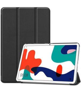 """Juodas atverčiamas dėklas Huawei Matepad 10.4 planšetei """"Tech-Protect Smartcase"""""""