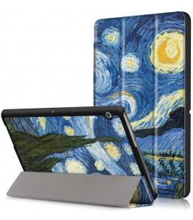 """Atverčiamas dėklas (Night) Huawei Mediapad T3 10.0 planšetei """"Tech-Protect Smartcase"""""""