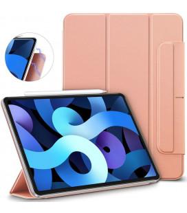"""Rausvai auskinės spalvos atverčiamas dėklas Apple iPad Air 4 2020 planšetei """"ESR Rebound Magnetic"""""""