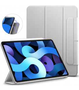 """Sidabrinės spalvos atverčiamas dėklas Apple iPad Air 4 2020 planšetei """"ESR Rebound Magnetic"""""""