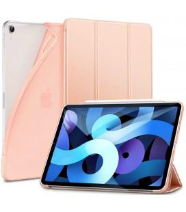 """Rausvai auksinės splavos atverčiamas dėklas Apple iPad Air 4 2020 planšetei """"ESR Rebound Slim"""""""