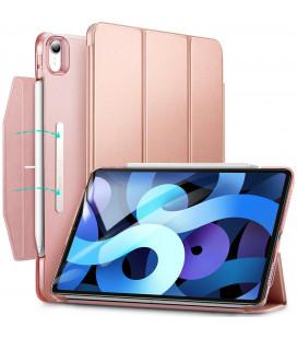 """Rausvai auksinės spalvos atverčiamas dėklas Apple iPad Air 4 2020 planšetei """"ESR Ascend Trifold"""""""