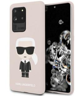 "Rožinis dėklas Samsung Galaxy S20 Ultra telefonui ""KLHCS69SLFKPI Karl Lagerfeld Full Body Cover"""