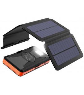 """Saulės energijos 6W kroviklis su išorine baterija 25000mAh """"Allpowers XD-SC-013-BORA"""""""