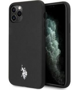 "Juodas dėklas Apple iPhone 11 Pro Max telefonui ""USHCN65PUBK U.S. Polo Wrapped Polo Cover"""