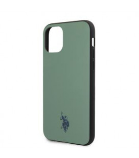 USHCN61PUGN U.S. Polo Wrapped Polo Cover for iPhone 11 Green