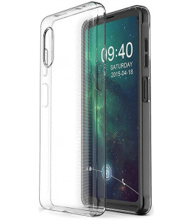 Skaidrus plonas 0,3mm dėklas Samsung Galaxy Xcover Pro telefonui