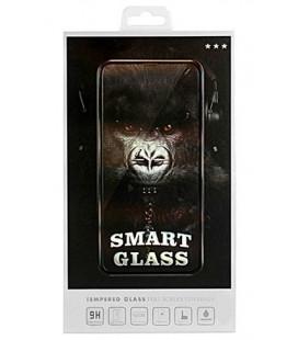 """Juodas apsauginis grūdintas stiklas Samsung Galaxy A71 telefonui """"Smart Glass"""""""