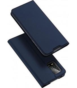 """Mėlynas atverčiamas dėklas Xiaomi Mi 10 Lite telefonui """"Dux Ducis Skin Pro"""""""
