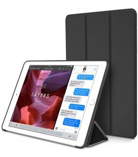 """Juodas atverčiamas dėklas Apple iPad Air 2 planšetei """"Tech-Protect Smartcase"""""""