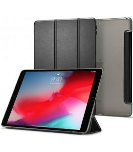 """Juodas atverčiamas dėklas Apple iPad Air 3 2019 planšetei """"Spigen Smart Fold"""""""