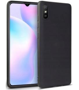 "Juodas dėklas Xiaomi Redmi 9A telefonui ""Tech-protect Icon"""
