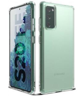"""Matinis skaidrus dėklas Samsung Galaxy S20 FE telefonui """"Ringke Fusion"""""""
