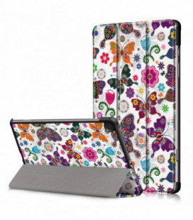 Dėklas Smart Leather Samsung P610/P615 Tab S6 Lite 10.4 butterfly