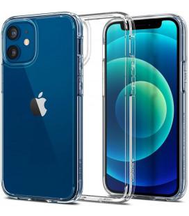 """Skaidrus dėklas Apple iPhone 12 Mini telefonui """"Spigen Ultra Hybrid"""""""
