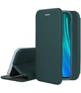 """Žalias atverčiamas dėklas Huawei Y6P telefonui """"Book Elegance"""""""