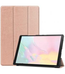 """Rausvai auksinės spalvos atverčiamas dėklas Samsung Galaxy Tab A7 10.4 T500/T505 planšetei """"Tech-Protect Smartcase"""""""