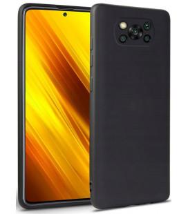 """Juodas dėklas Xiaomi Poco X3 NFC telefonui """"Tech-protect Icon"""""""