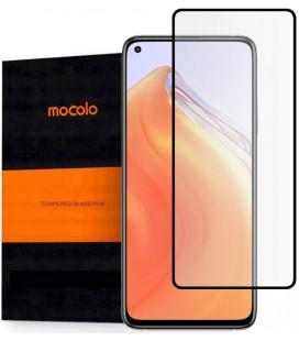 """Juodas apsauginis grūdintas stiklas Xiaomi Mi 10T / 10T Pro telefonui """"Mocolo TG Full Glue"""""""