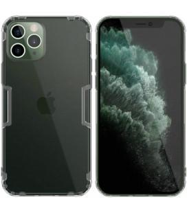 """Skaidrus/pilkas dėklas Apple iPhone 12 Pro Max telefonui """"Nillkin Nature"""""""