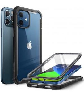 """Juodas dėklas Apple iPhone 12/12 Pro telefonui """"Supcase IBLSN ARES"""""""