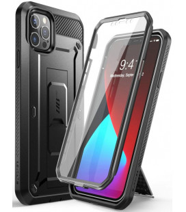 """Juodas dėklas Apple iPhone 12/12 Pro telefonui """"Supcase Unicorn Beetle Pro"""""""