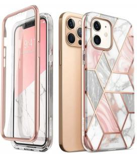 """Dėklas su marmuro efektu Apple iPhone 12/12 Pro telefonui """"Supcase Cosmo"""""""