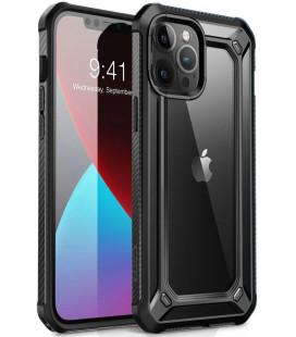 """Juodas dėklas Apple iPhone 12/12 Pro telefonui """"Supcase EXO Pro"""""""