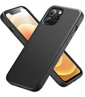 """Juodas odinis dėklas Apple iPhone 12/12 Pro telefonui """"ESR Metro Premium"""""""