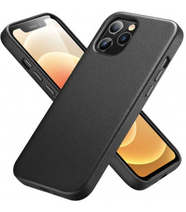 """Juodas odinis dėklas Apple iPhone 12 Pro Max telefonui """"ESR Metro Premium"""""""