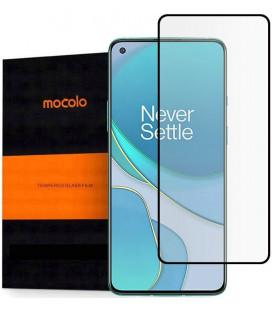 """Juodas apsauginis grūdintas stiklas Oneplus 8T telefonui """"Mocolo TG Full Glue"""""""