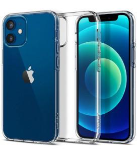 """Skaidrus dėklas Apple iPhone 12 Mini telefonui """"Spigen Liquid Crystal"""""""