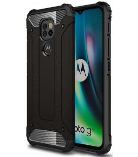 """Juodas dėklas Motorola Moto G9 Play / E7 Plus telefonui """"Tech-Protect Xarmor"""""""