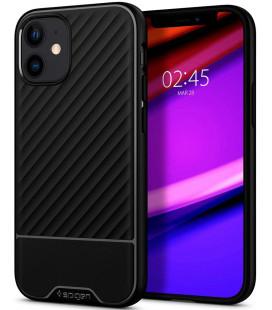 "Juodas dėklas Apple iPhone 12 Mini telefonui ""Spigen Core Armor"""
