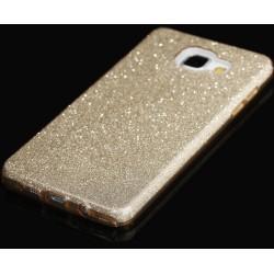 """Auksinės spalvos silikoninis blizgantis dėklas Samsung Galaxy A5 2016 A510F telefonui """"Blink"""""""