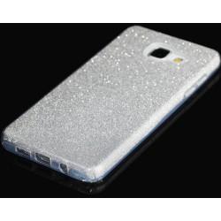 """Sidabrinės spalvos silikoninis blizgantis dėklas Samsung Galaxy A5 2016 A510F telefonui """"Blink"""""""